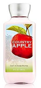 Bath & Body Works Bath & Body Works Country Apple 8.0 Oz Shea & Vitamin E Body Lotion, 8 Ounce
