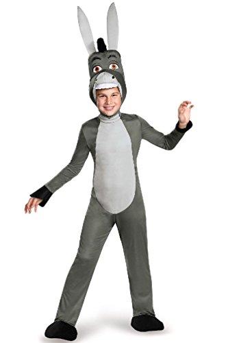 [8eighteen Shrek Donkey Deluxe Child Costume] (Deluxe Adult Shrek Costumes Mask)