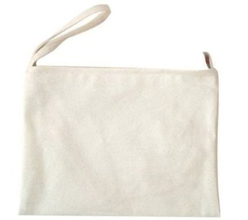 - MasterChinese 4/pk 8x11 Inches Inner Lining Canvas Cotton DIY Tablet (iPad) Makeup Cosmetic Tool Zipper Pouch Bag