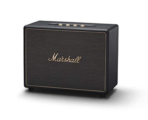 Marshall Woburn 04091924 Altavoz Multi-Room Wi-fi y Bluetooth, Negro, EU