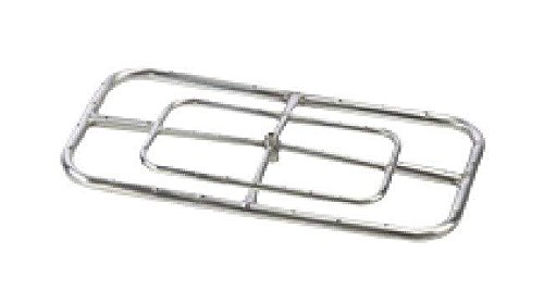 Hearth Rectangle 48 (Hearth Products Controls (HPC Rectangle Stainless Steel Fire Pit Burner (FRSR-48X24-NG), 48X24-Inch, Natural Gas)