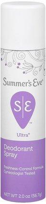 SUMMER'S EVE Ultra Feminine Deodorant Spray-2 oz, 2 ct (Quantity of 4)