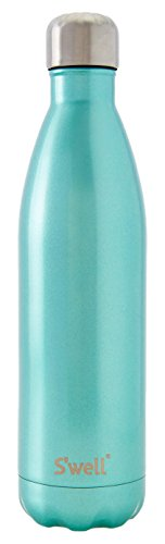 S'well Vacuum Insulated Stainless Steel Water Bottle, 25 oz, Sweet Mint