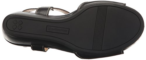 Camilla Women's Wedge Sandal Black Naturalizer O5gZ0wqg