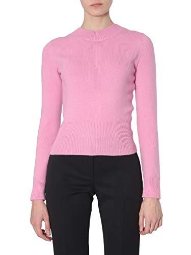 Alexander McQueen Women's 585100Q1ac75003 Pink Wool Sweater