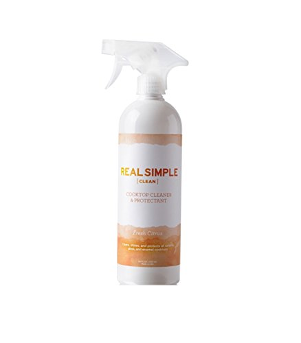 Real Simple Clean Cooktop Cleaner & Protectant 24 oz