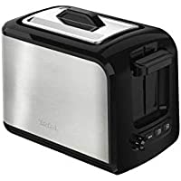 Tefal TT410D Express Toaster with Lid, Black