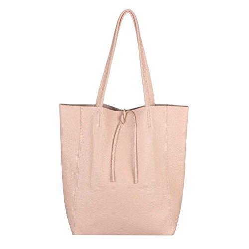 OBC Only-Beautiful-Couture, Borsa a mano donna Rosa Rosa-schlange ca.: 38x36x9 cm (BxHxT) rosa chiaro 36X40X12 cm