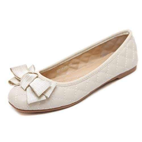 bredLily Fashion Breathable Autumn Women Shoes Casual Ballet Flats Shoes Rosette Shallow Mouth Ladies -