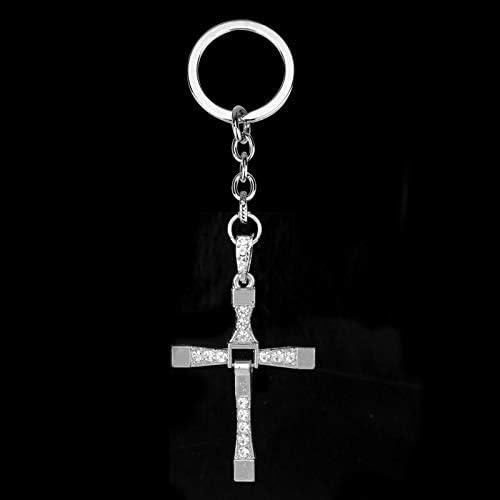 1x Simple Metal PU Leather Belt Car Key Ring Keychain Unisex Car Bag Pendant Hot
