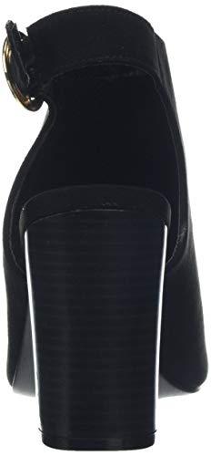 Femme Ouvert Bout New 1 black Look Escarpins Wowee Noir xIfIqaXzw