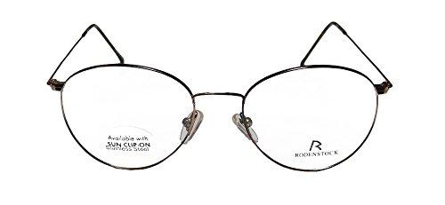 Rodenstock R2321 Mens/Womens Rx-able Red Carpet Style Designer Full-rim Eyeglasses/Glasses (48-18-140, Havana)