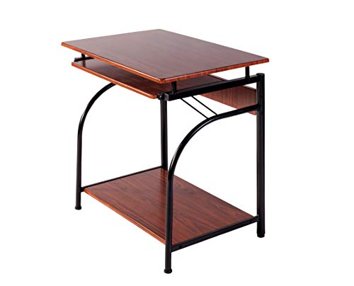 OneSpace 50-1001CH Stanton Computer Desk Cherry Red