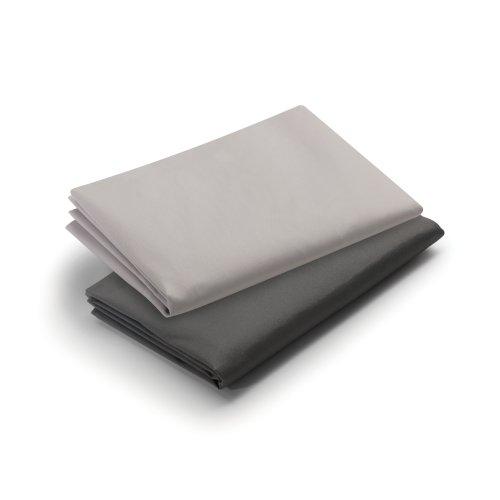 Graco Pack 'n Play Playard Sheet, Dark Gray/Pale Gray, 2 Count