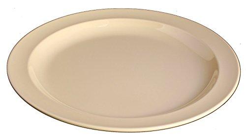 Z-Moments Vintage Western Melamine Round Plate Dinner Salad Platter, 10-1/4