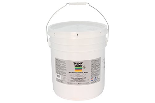 (Super Lube 41030 Synthetic Grease (NLGI 2), 30 lb Pail, Translucent White)