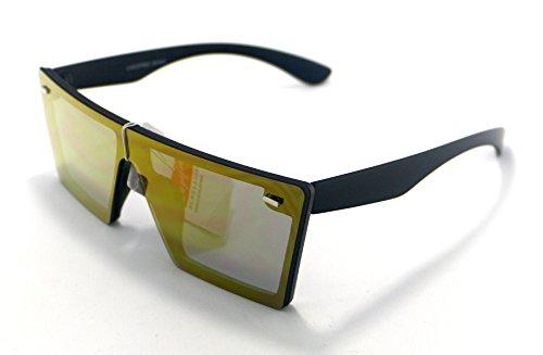 Totalcovers Gafas de Sol Hombre Mujer Lente Plana Lagofree ...