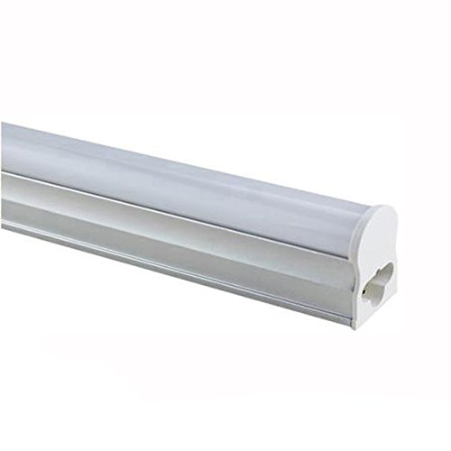 10PCS/Lot 3 Years Warranty 100-110LM/W 2ft 3ft 4ft 5ft LED Tube T5 1200mm 600mm 900mm 1500mm Fluorescent Lamp Daylight Lights (1500mm, Cool White)