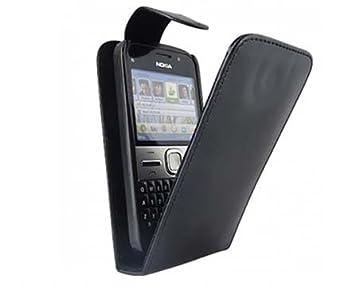 quality design c198f b919d Tanco Impex Black High Quality Leather Flip Case Cover: Amazon.co.uk ...