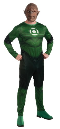 Rubie's Costume Co Men's Green Lantern Adult Kilowog Costume, Green, X-Large (Green Lantern Costume For Men)