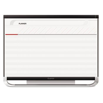 Prestige 2 Connects Total Erase Project Planning Board, 36 X 24, Graphite Frame by Quartet