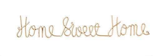 Sweet Metal (Cape Craftsmen Home Sweet Home 3-D Cursive Metal Wall Decor)