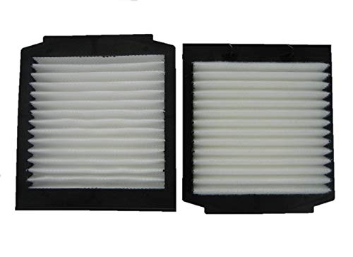 SET OF 2 1995-2002 Range Rover P38 Cabin Air Pollen Filters by Allmakes 4x4 ()