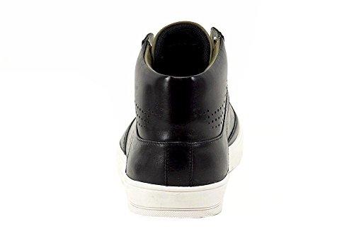 Hugo Boss Mens Attilaser Black Sneakers Schoenen Zwart