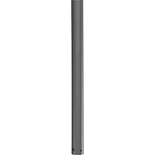 Progress Lighting P2608-143 AirPro Collection 60 in. Ceiling Fan Downrod, Graphite