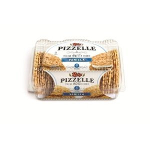 Reko Vanilla Pizzelle Cookies (Case of 12) by Reko
