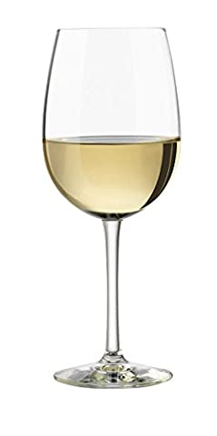 Libbey Vineyard Reserve 12.5-Ounce Riesling Wine Glass Set, 4-Piece - 12.5 Ounce Beverage Glass