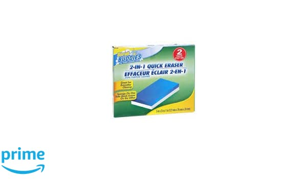 2-in-1 Quick Erasers by Scrub Buddies Badausstattung Badaccessoires