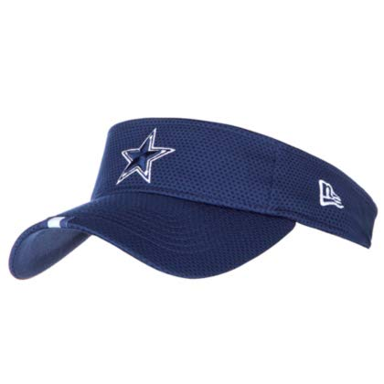 Dallas Cowboys New Era Mens Navy Training Visor