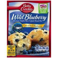 Betty Crocker Wild Blueberry Muffin & Bread Mix (Case of 12)