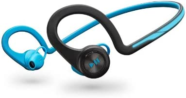 Amazon Com Plantronics Backbeat Fit Bluetooth Headphones Blue