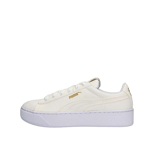 PUMA Women's low sneakers 365,603 01 Vikky PLATFORM CV White