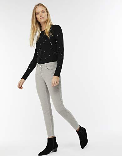 Gris Cara en c tel Velours Skinny Femme Jeans Monsoon q7wY88