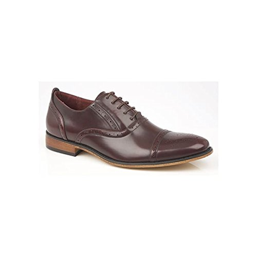 Oxblood Herren Mr Brogue Shoes Schnürhalbschuhe qOXwvUfwIW