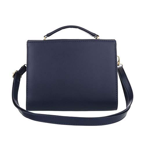 Sac femme pour l'épaule Design Bleu porter Ital Foncé à à t5qwvUxxn