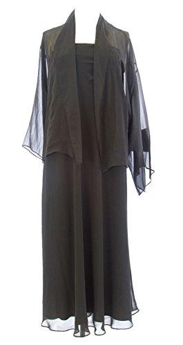 - Marina Rinaldi by MaxMara Lorelai Black Strapless Dress w/Cardigan 12W / 21