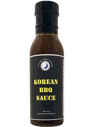 PREMIUM | Korean BBQ Sauce | CRAFTED in Small Fresh with Farm Fresh SPICES for Premium Flavor and Zest (Best Korean Bbq Marinade Recipe)