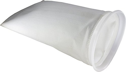 Duda Energy PESP1PW-01um 1 Micron Welded Polyester Felt filter Bag 7'' x 16'' Industrial Size #1, Polyester by Duda Energy