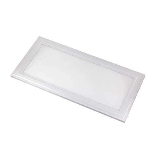 Crystal Quest Single - 1x2 LED Flush-Mount Panel (Single) 25W; 50,000 Life Hours; Dimmable to 5%; 120V; 2500 Lumens=100lm/w; CRI>90; Integrated Driver; UL, JA-8 & Energy Star Listed (Crystal White Glow 5000K)