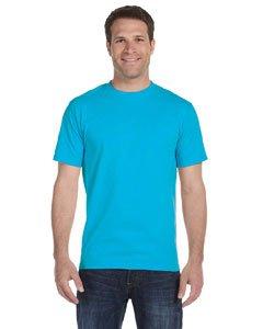 Gildan mens DryBlend 5.6 oz. 50/50 T-Shirt(G800)-CAROLINA BLUE-XL (Gildan 50 50 Dryblend T Shirt 8000)