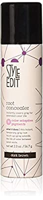 Style Edit Root Concealer Touch Up Spray | Instantly Covers Grey Roots | Professional Salon Quality Cover Up Hair Products for Women
