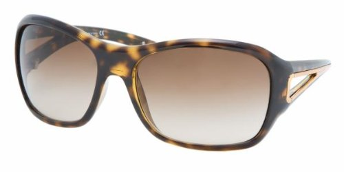 7a3f463b6376 Prada Spr 15L 2Au6s1 Havana Sunglasses  Amazon.co.uk  Clothing