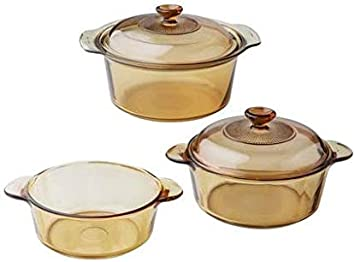 Visions 5 piece Cookware Set