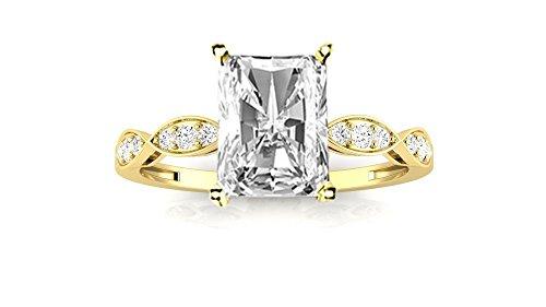 0.58 Ct Radiant Diamond - 8