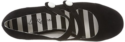 Alice Lola Black Toe Ramona Closed Black Women's Heels 22 EWYWBZnq6