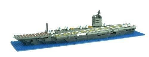 nanoblock USS Enterprise Aircraft Carrier Enterprise aircraft carrier parallel import goods